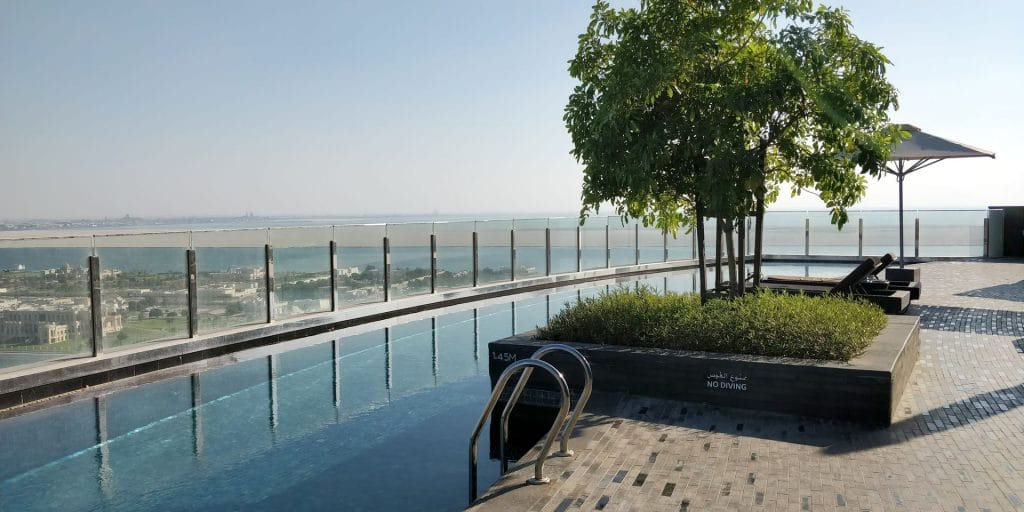 Andaz Capital Gate Abu Dhabi Pool 2