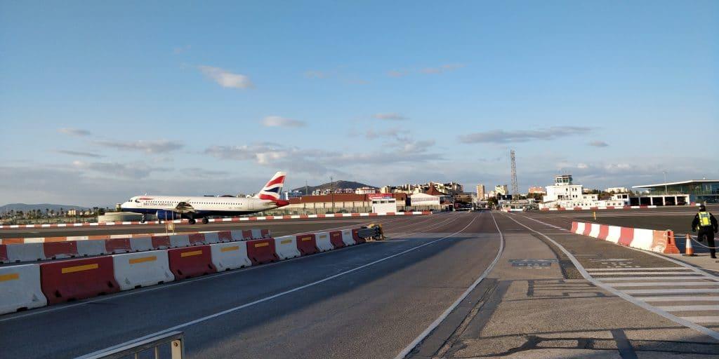British Airways Gibraltar Start