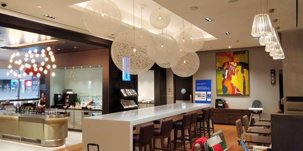 British Airways Lounge Dubai 2