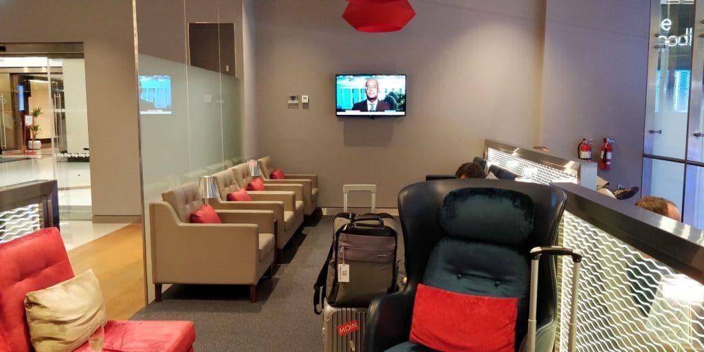 British Airways Lounge Dubai 4