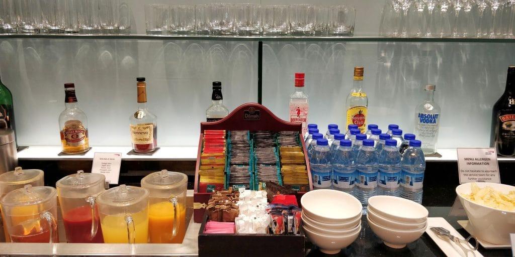 British Airways Lounge Dubai Buffet 5
