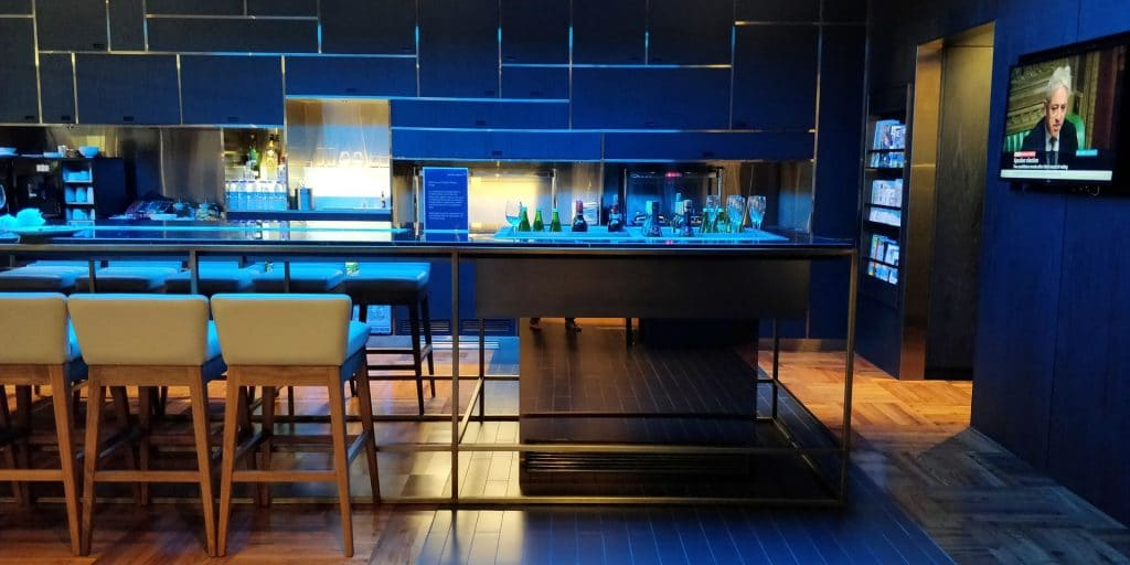 British Airways Lounge Dubai Concorde Bar