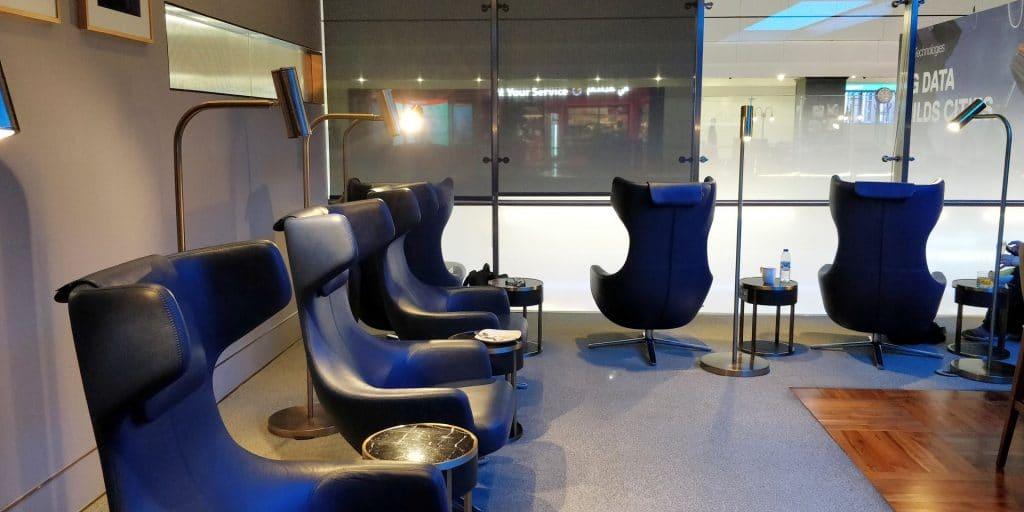 British Airways Lounge Dubai Concorde Bar 3