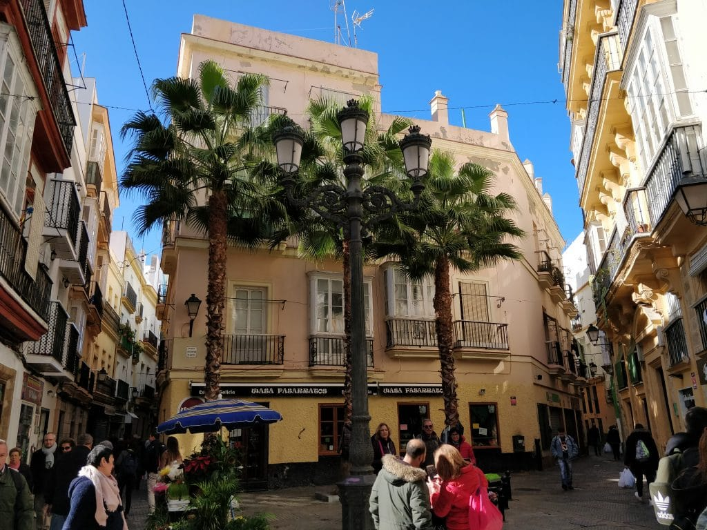 Cadiz Old Town Building