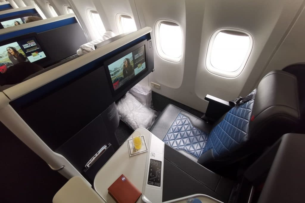Delta One Suites Business Class Sitz,