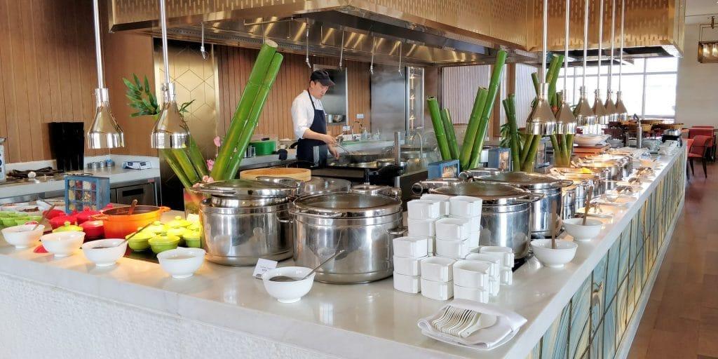 Hilton Dalian Golden Pebble Beach Frühstück