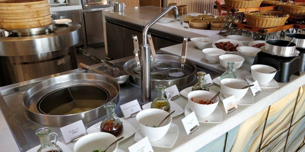 Hilton Dalian Golden Pebble Beach Frühstück 2
