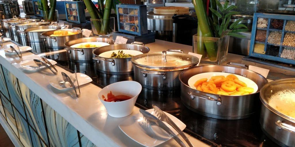 Hilton Dalian Golden Pebble Beach Frühstück 3