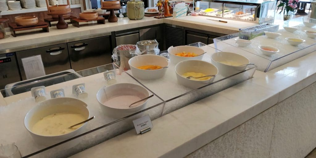 Hilton Dalian Golden Pebble Beach Frühstück 6