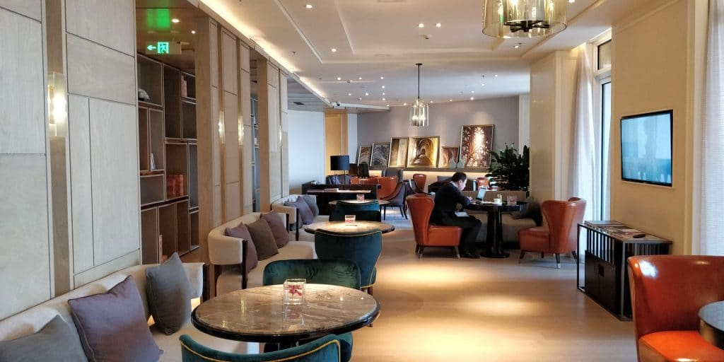 Hilton Dalian Golden Pebble Beach Lounge