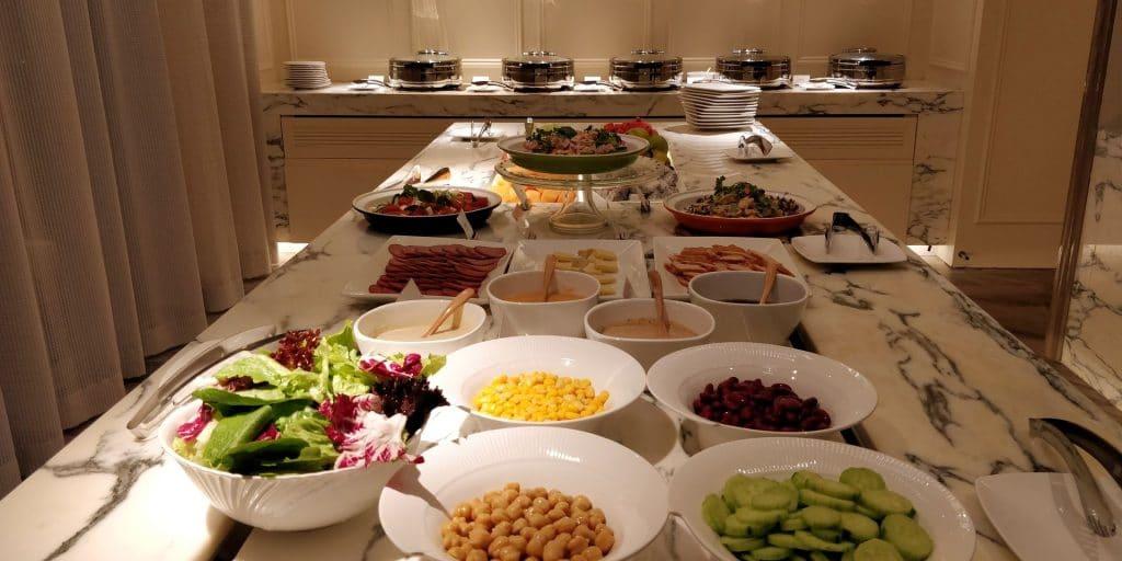 Hilton Dalian Golden Pebble Beach Lounge Abendessen