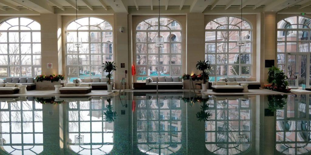 Hilton Dalian Golden Pebble Beach Pool 3