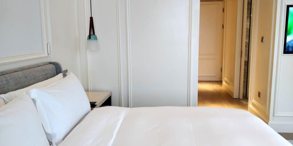 Hilton Dalian Golden Pebble Beach Suite Schlafzimmer 6