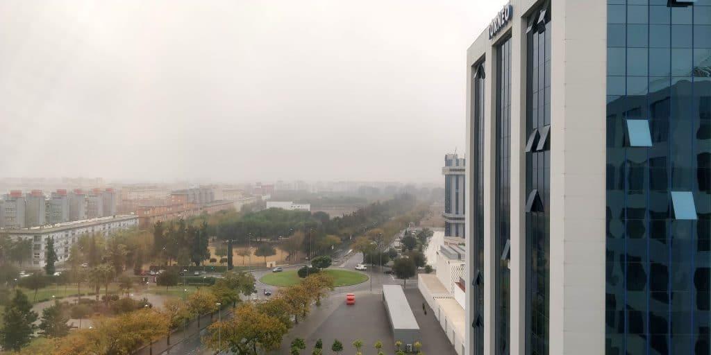 Hilton Garden Inn Sevilla Ausblick