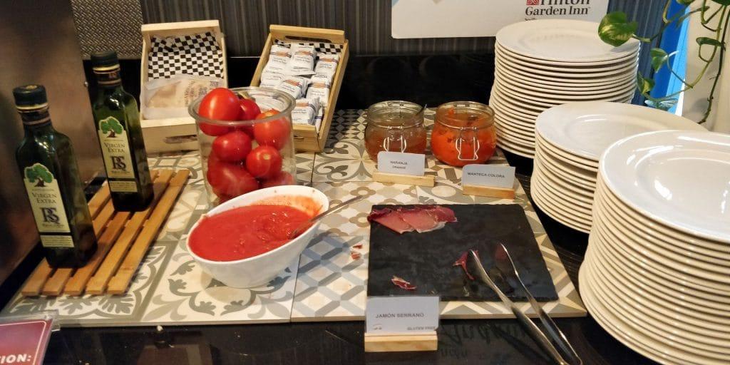 Hilton Garden Inn Sevilla Frühstück 4