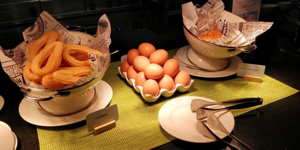 Hilton Garden Inn Sevilla Frühstück 6
