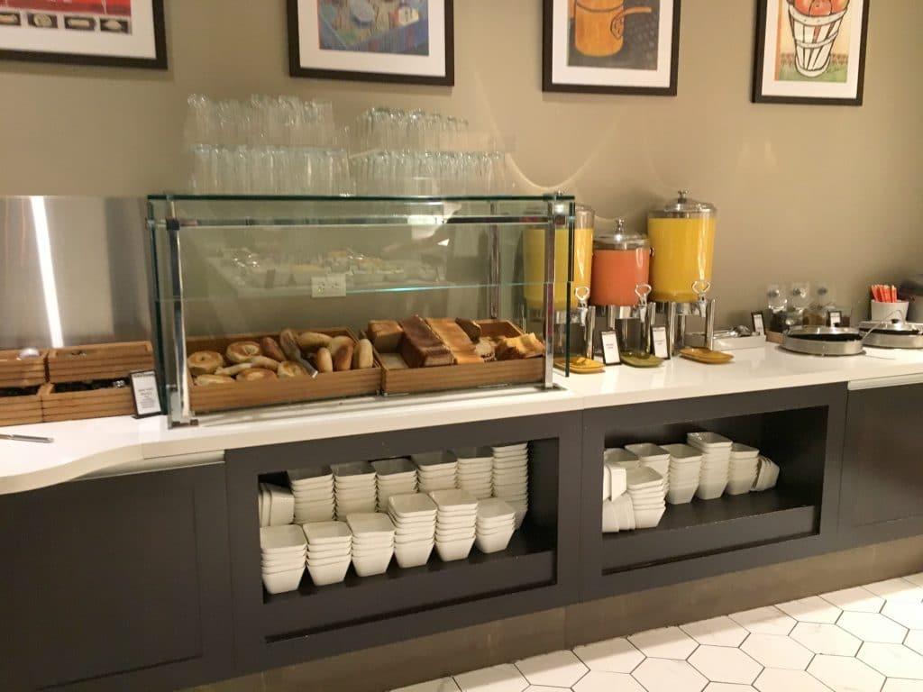 Hilton Midtown New York Frühstück 2
