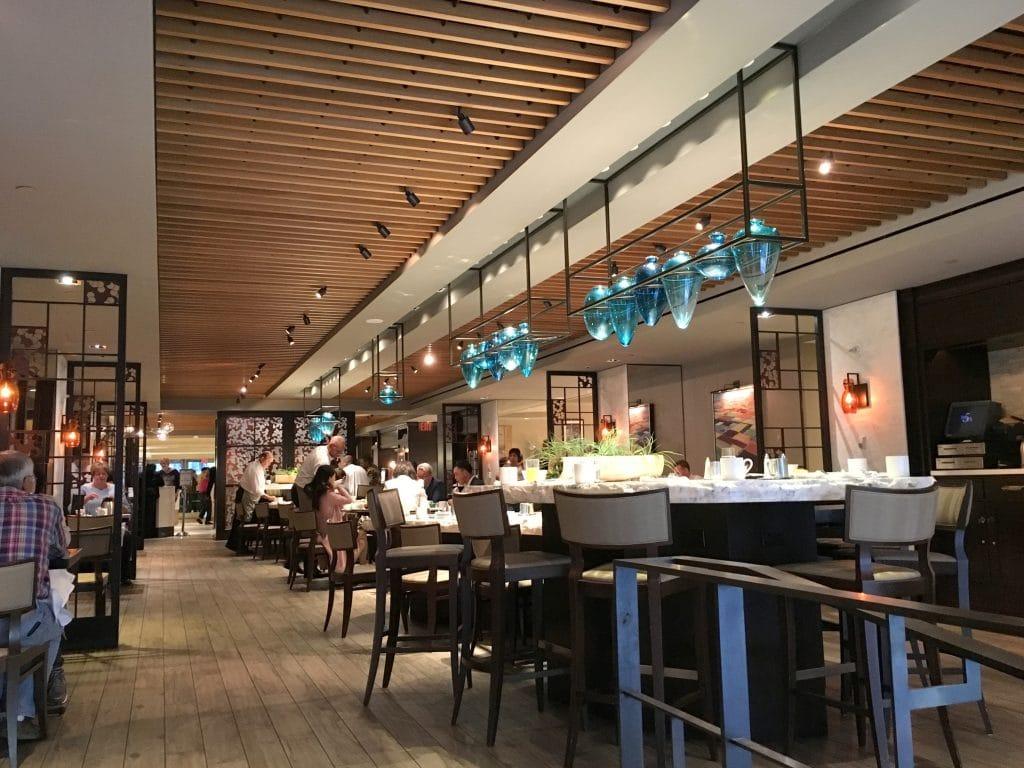 Hilton Midtown New York Frühstücksrestaurant