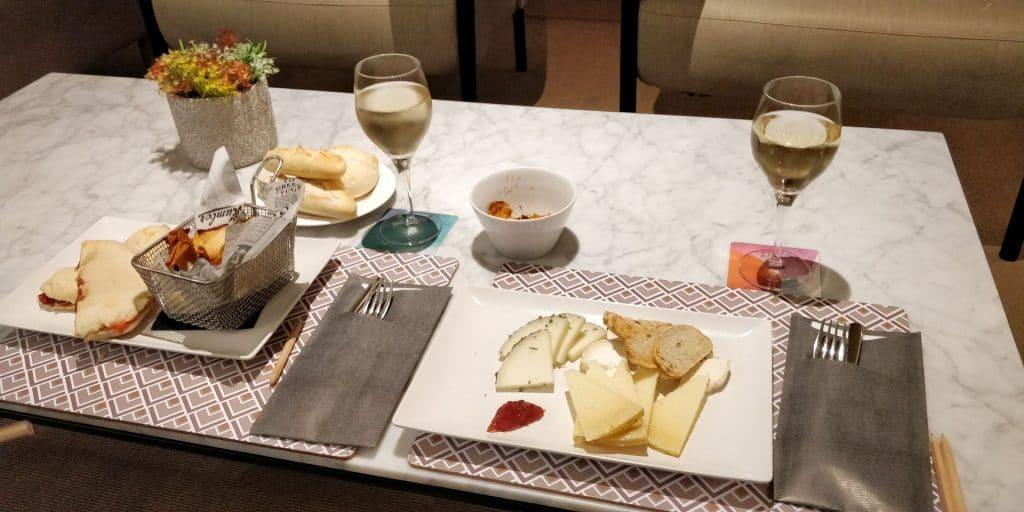 Melia Sevilla Abendessen