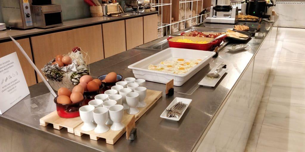 Melia Sevilla Frühstück 9