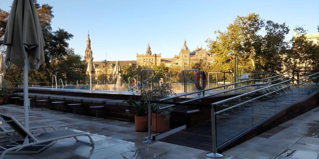 Melia Sevilla Pool 3