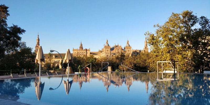 Melia Sevilla Pool