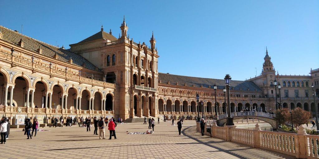 Plaza De Espana Sevilla 10