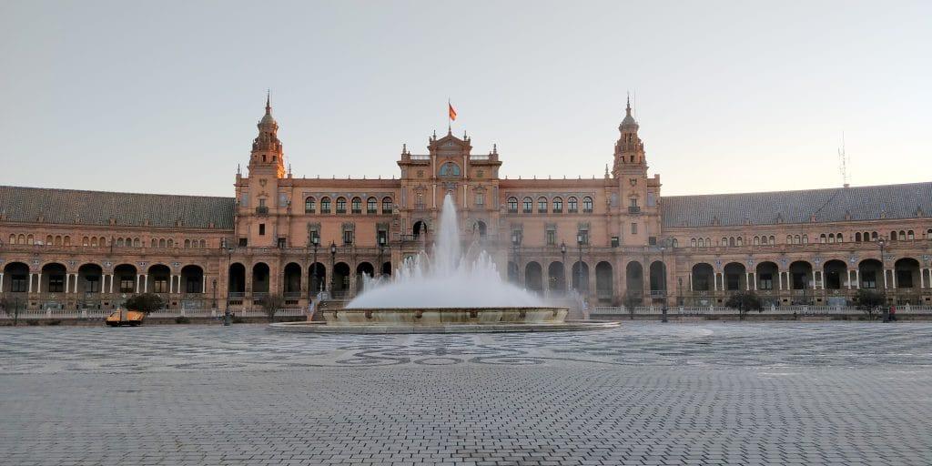 Plaza De Espana Sevilla 2