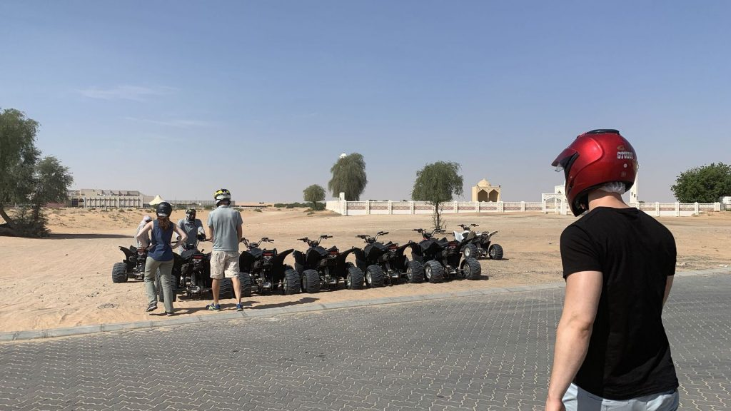 Quad Fahren Dubai Wüste 2