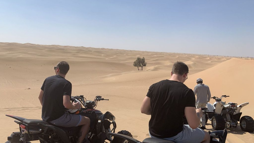 Quad Fahren Dubai Wüste 4