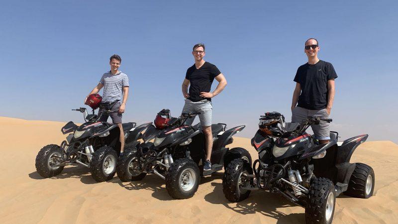 Quad Fahren Dubai Wüste 5