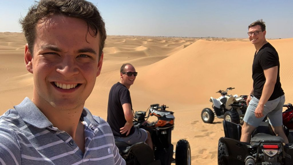Quad Fahren Dubai Wüste 6