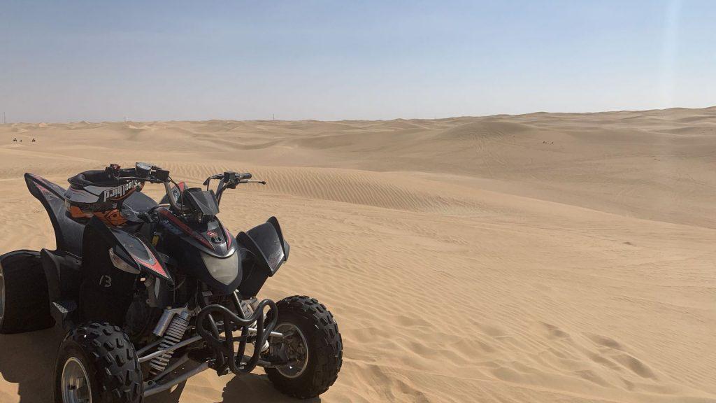 Quad Fahren Dubai Wüste 7