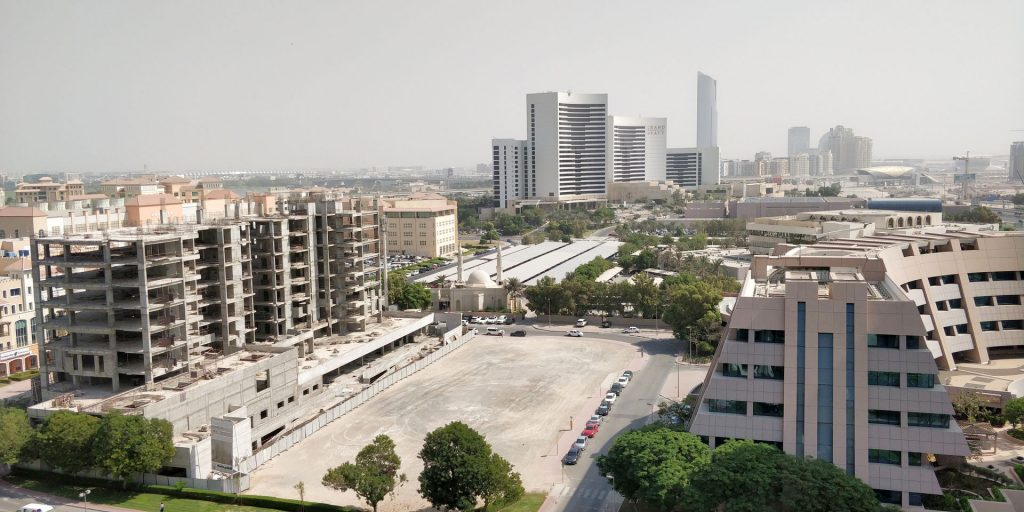 Raffles Dubai Ausblick