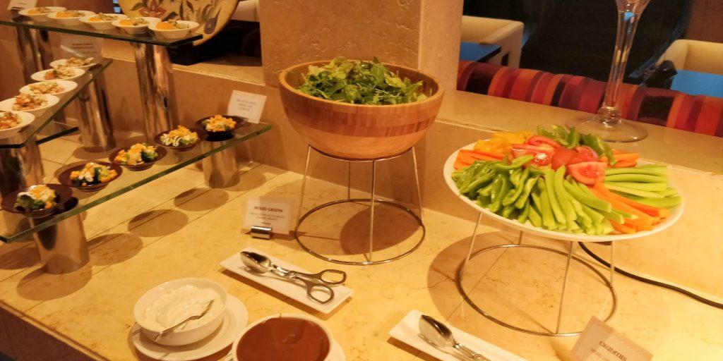 Raffles Dubai Club Abendessen 2