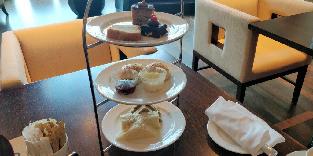 Raffles Dubai Club Afternoon Tea