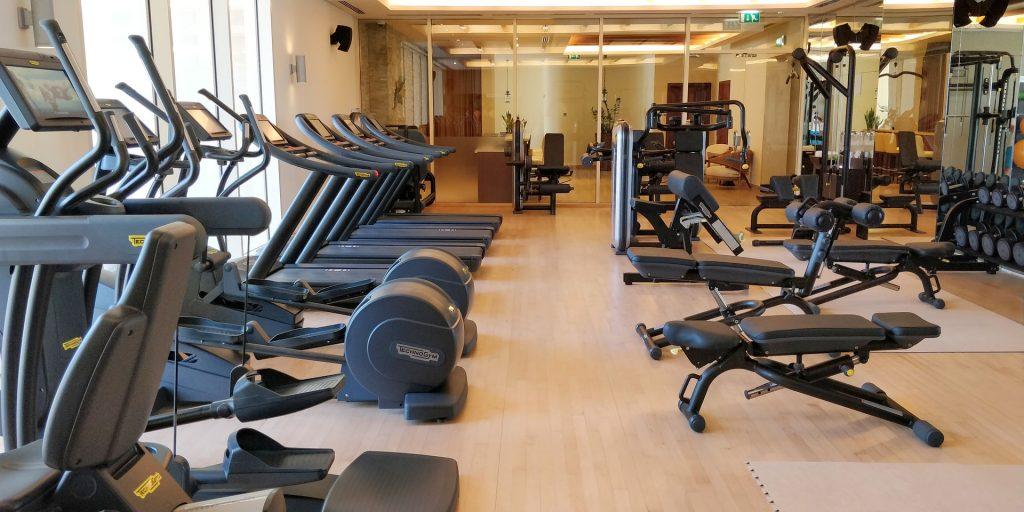 Raffles Dubai Fitness 2