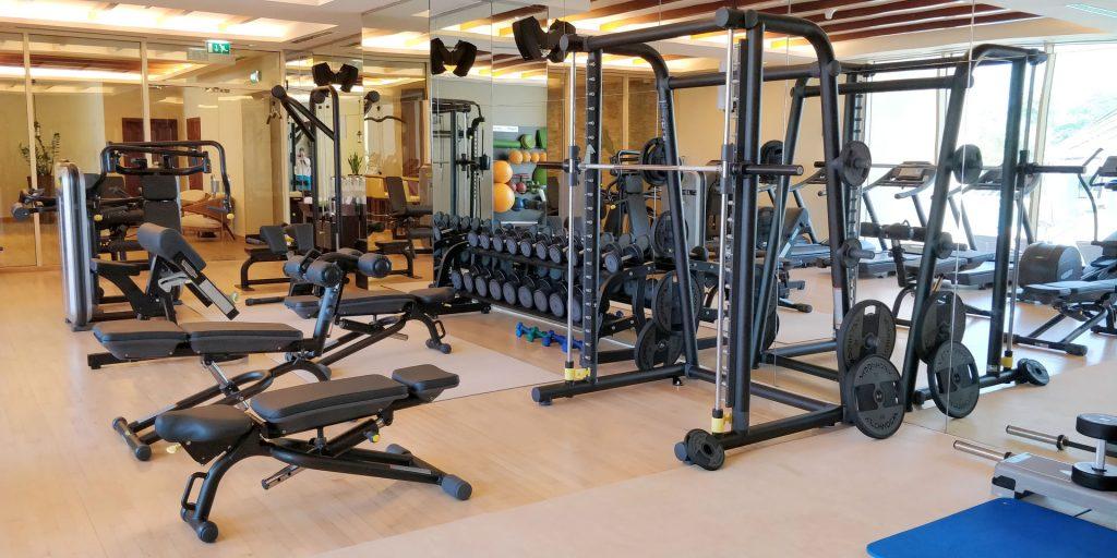Raffles Dubai Fitness 3