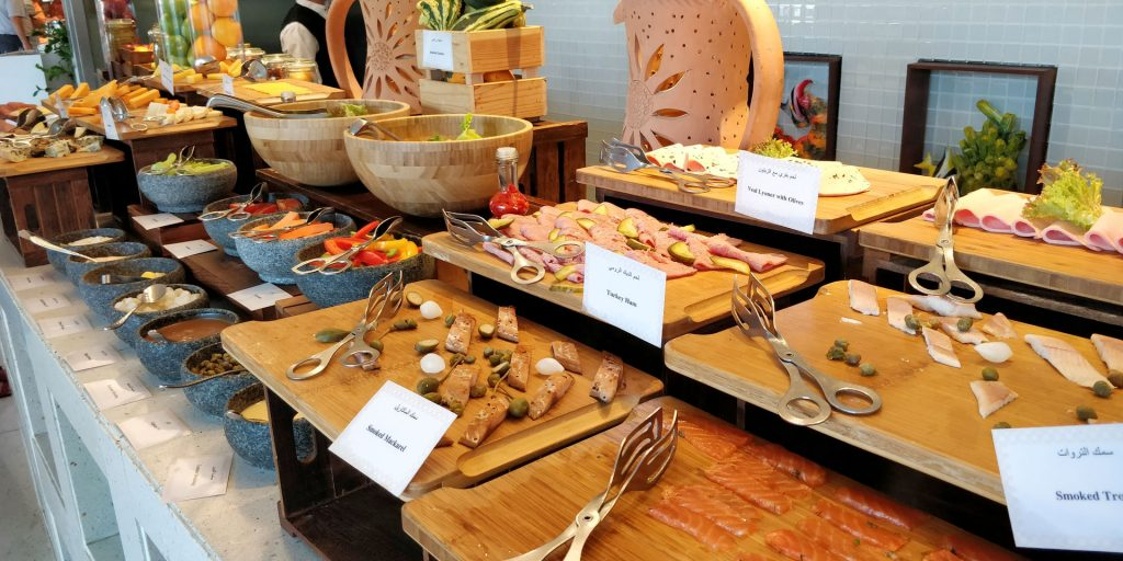 Raffles Dubai Frühstück 5