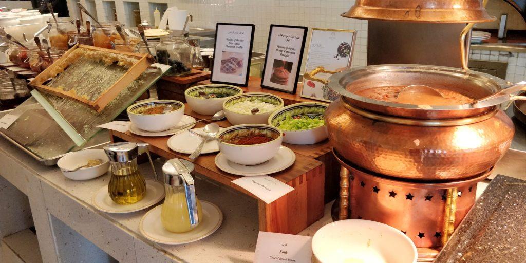 Raffles Dubai Frühstück 8