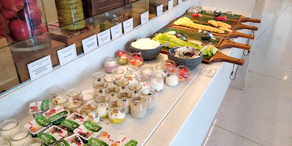 Raffles Dubai Frühstück 9