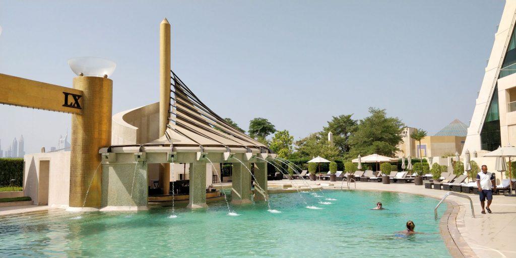 Raffles Dubai Pool 2