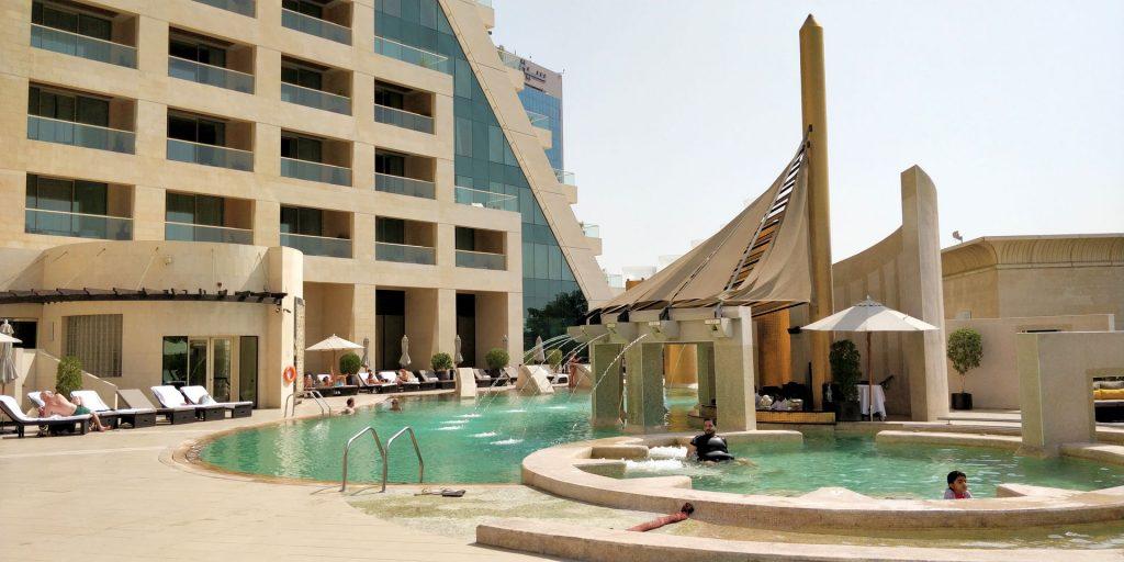 Raffles Dubai Pool 3