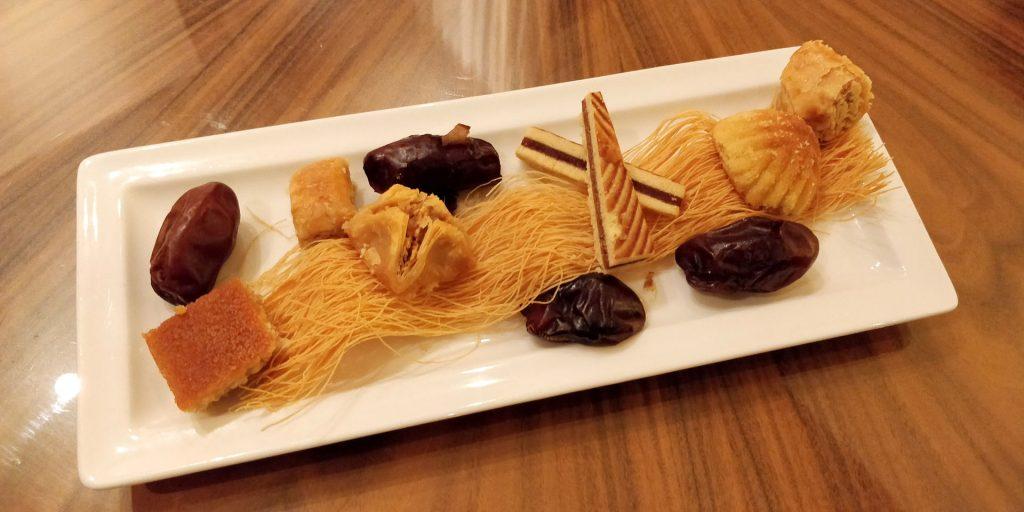 Raffles Dubai Süßigkeiten