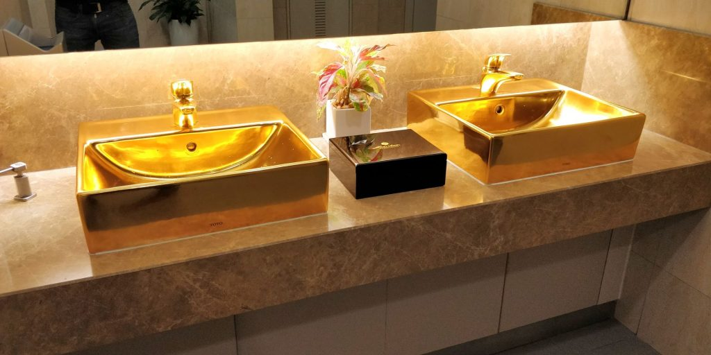 Song Hong Business Lounge Hanoi Toiletten 2