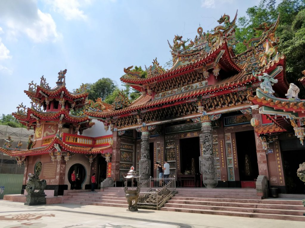Sonne Mond See Longfeng Tempel 3
