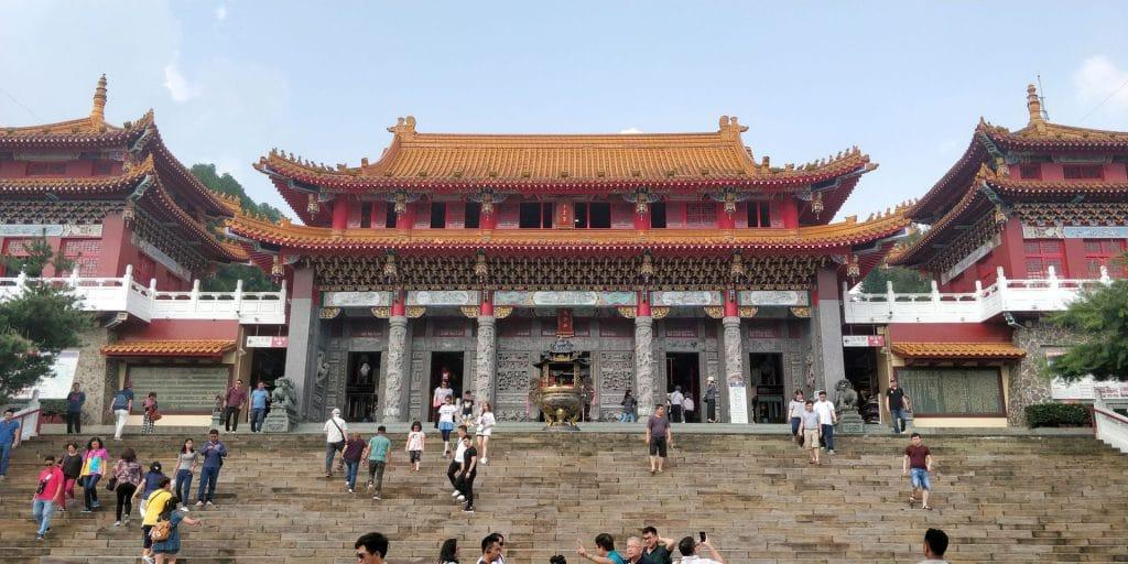 Sonne Mond See Wenwu Tempel