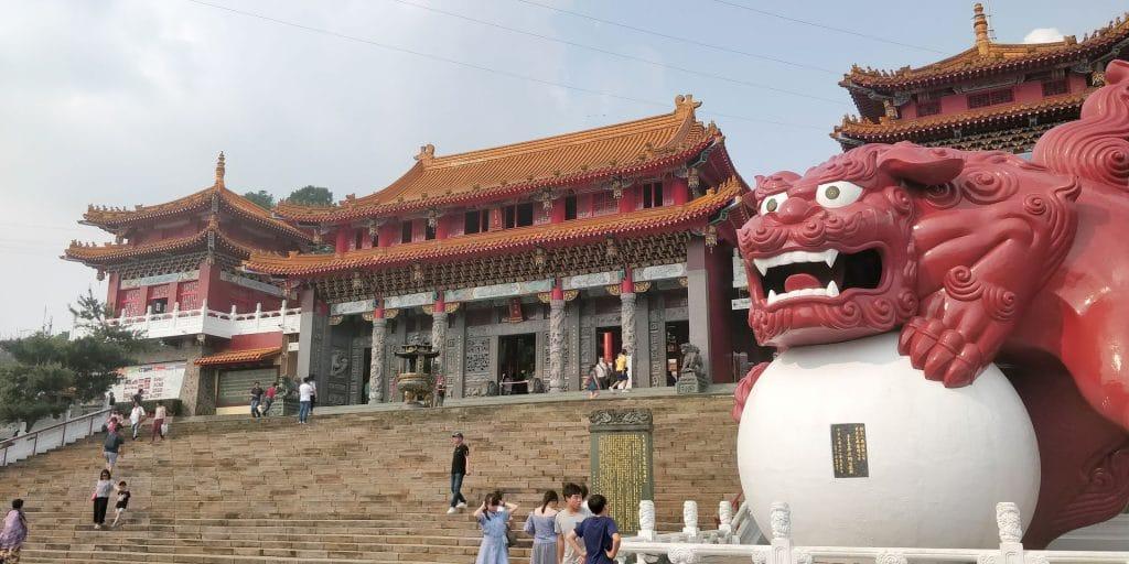 Sonne Mond See Wenwu Tempel 2