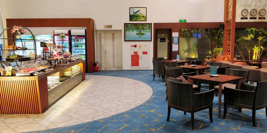 Vietnam Airlines Lotus Lounge Hanoi International 10