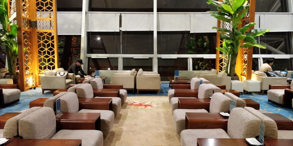 Vietnam Airlines Lotus Lounge Hanoi International
